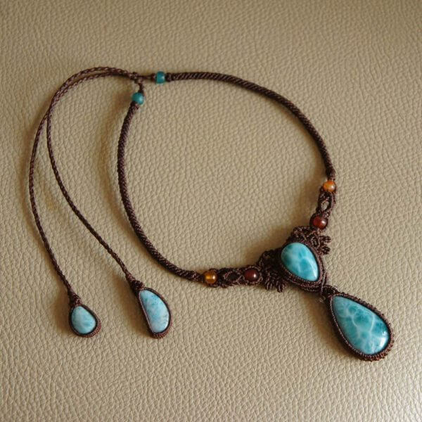 Larimar Necklace