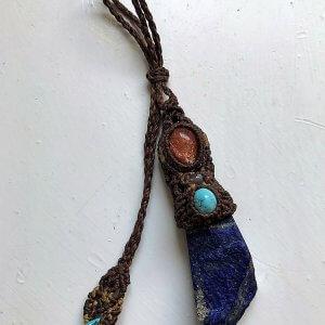 Lapis Lazuli Charm