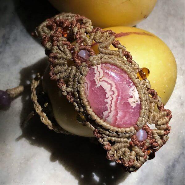 Rhodocrosite Bracelet